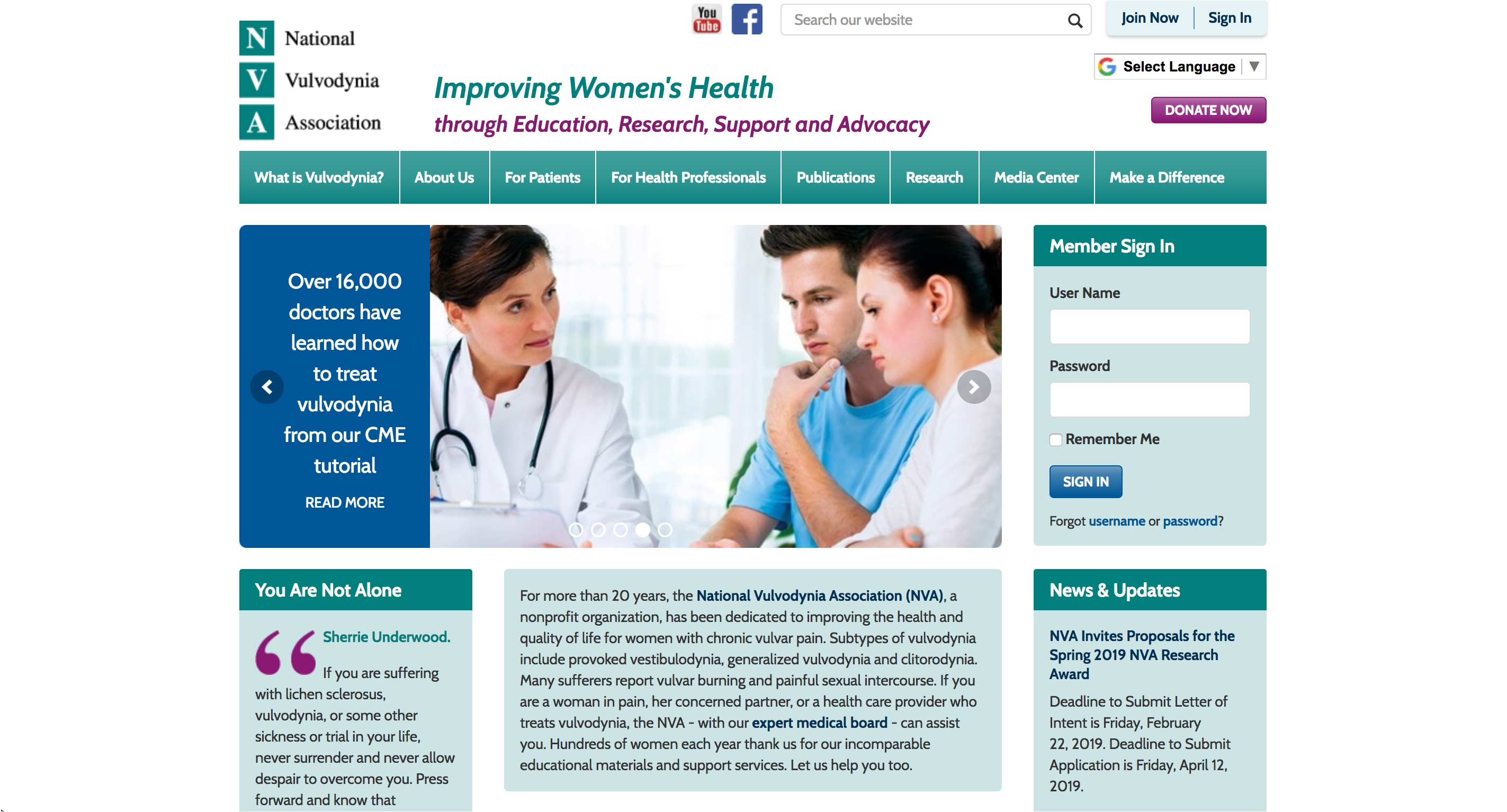 NVA - National Vulvodynia Association - Home Page