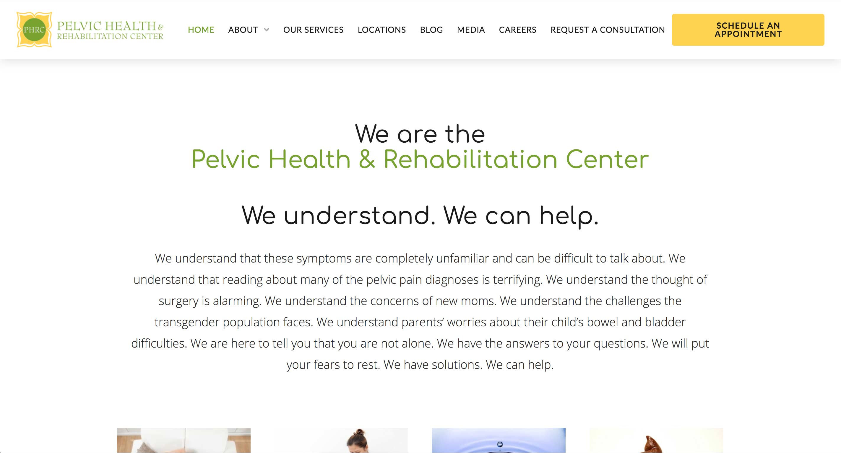 Pelvic Health and Rehabilitation Center Blog - Home Page