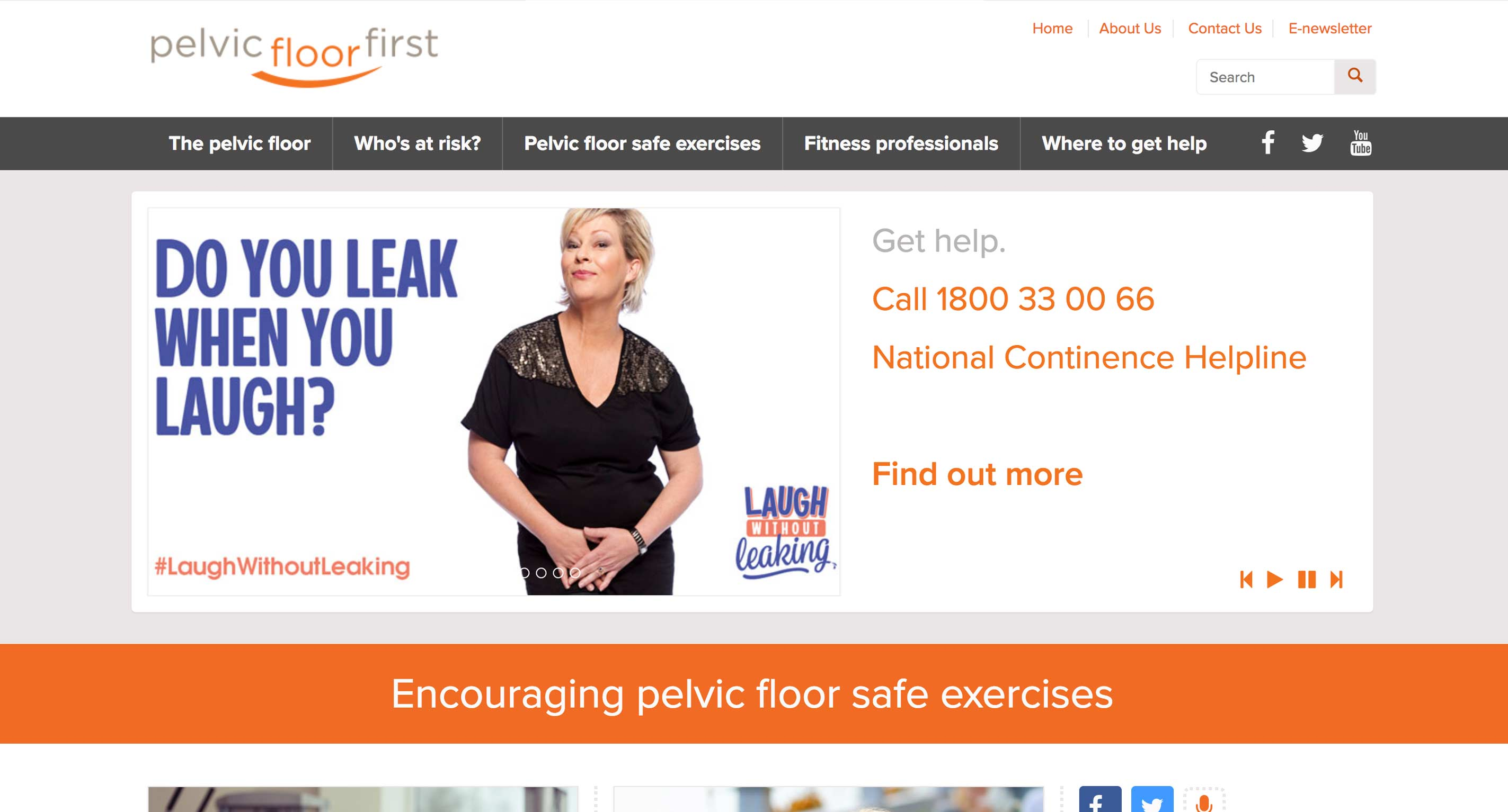 Pelvic Floor First - Home Page