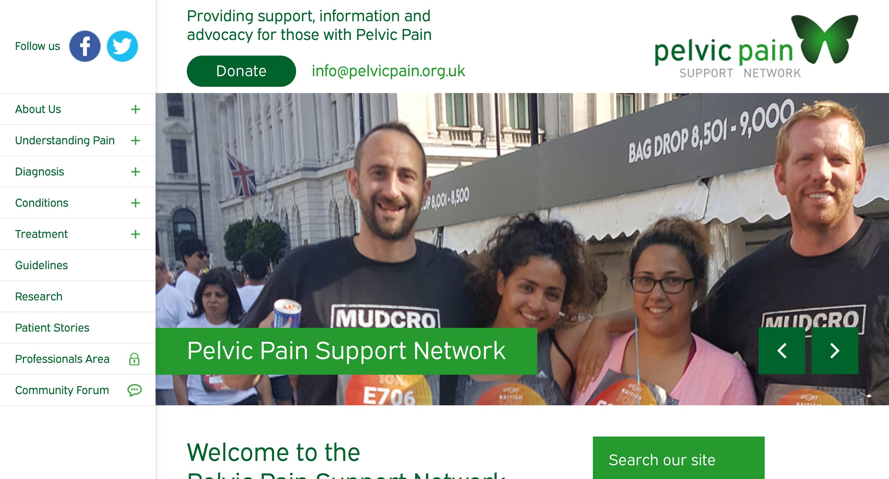 The Pelvic Pain Support Network