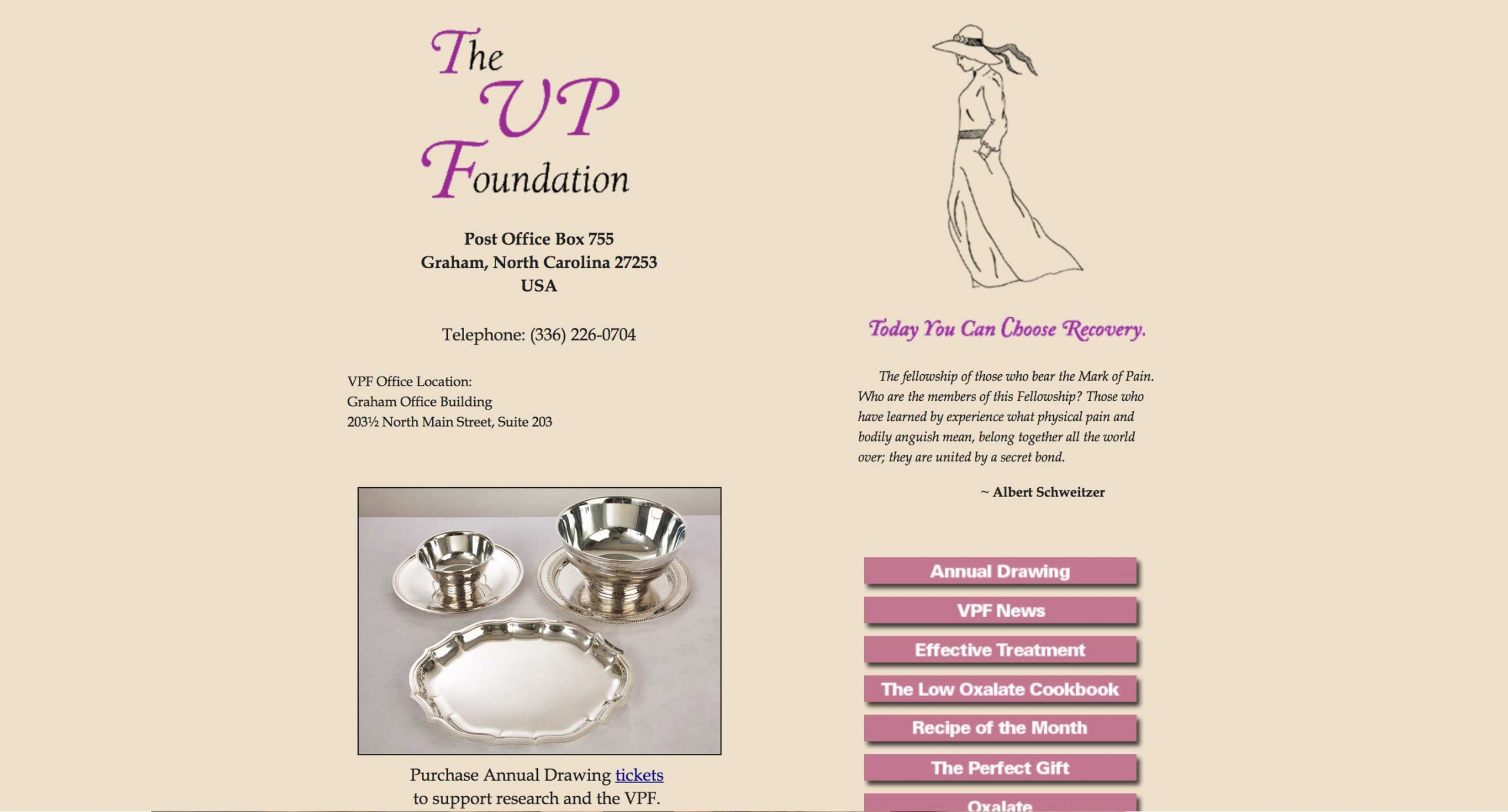 The VP Foundation - Home Page