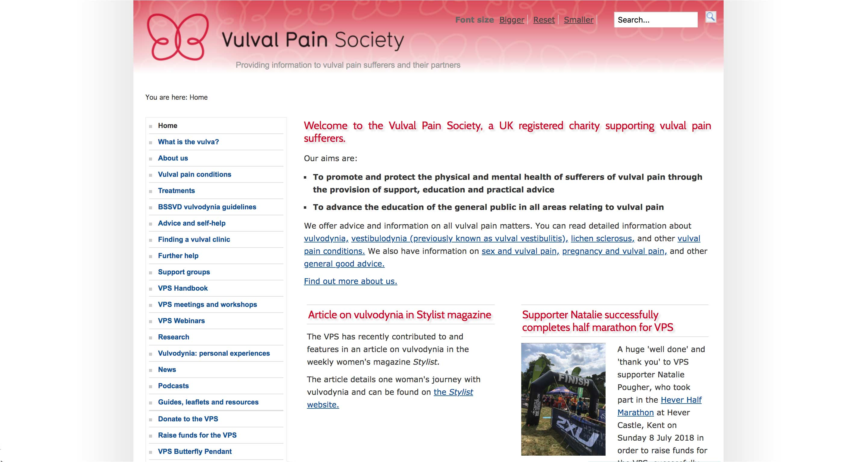 Vulva Pain Society - Home Page