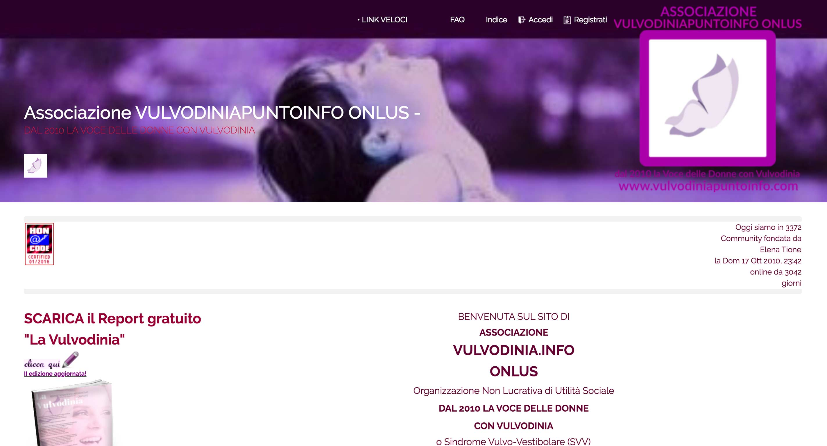 Vulvodinia Punto Info - Home Page
