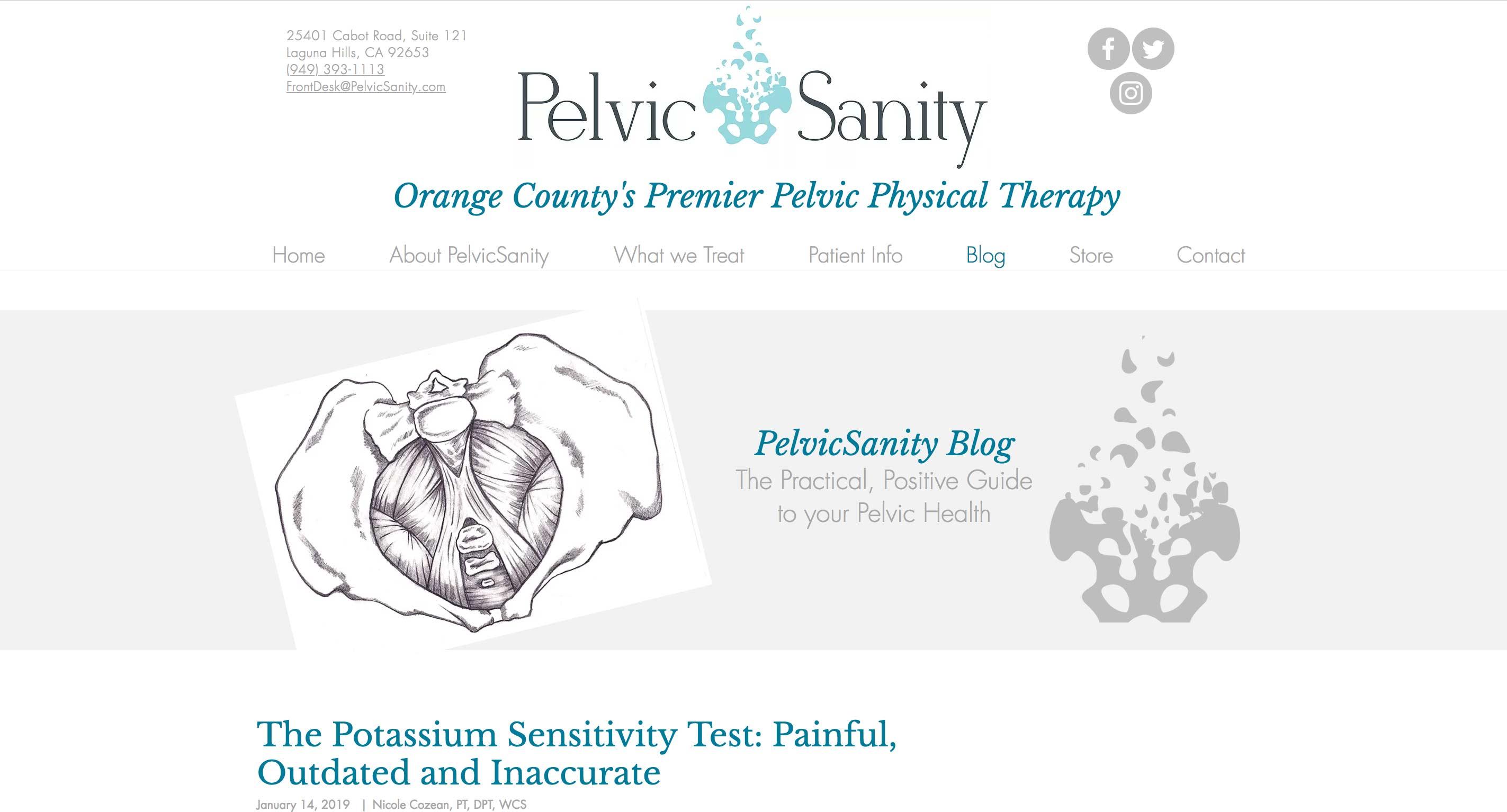 Pelvic Sanity